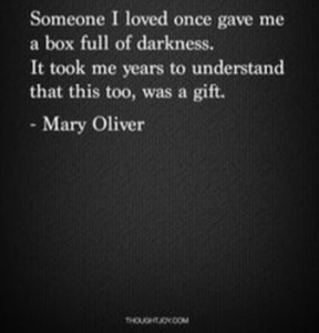box of darkness mary oliver
