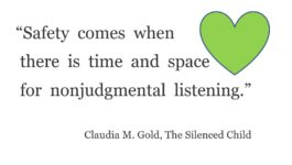The Silenced Child by Claudia Gold, MD – GEMS for Parents